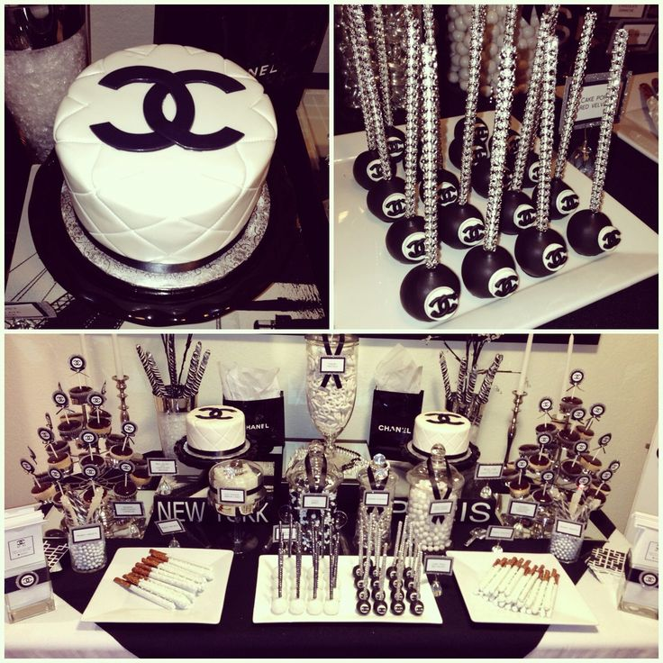 The Ultimate Chanel Themed Bridal Shower Localpartyplanner