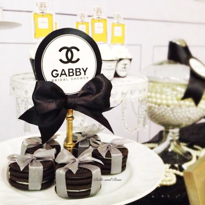 The Ultimate Chanel Themed Bridal Shower Localpartyplanner Blog