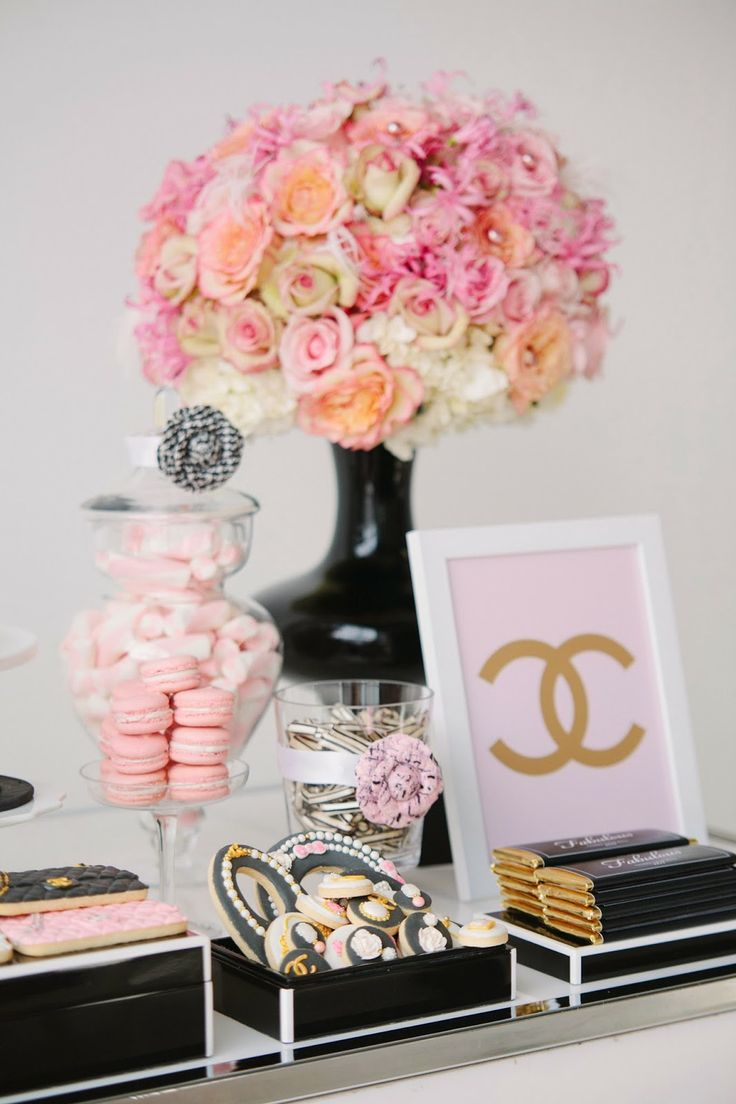 The Ultimate Chanel Themed Bridal Shower ...
