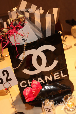 Chanel Themed Bridal Shower Centerpieces Tablescapes and Decor Ideas.