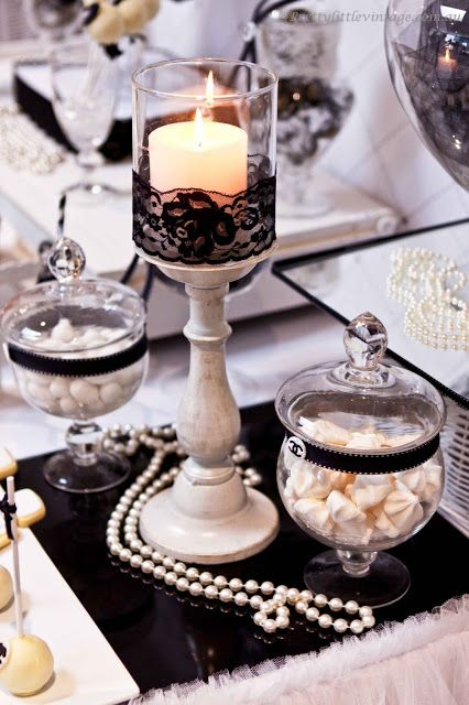 chanel themed bridal shower centerpieces tablescapes and decor ideas the perfect inspiration for any chanel