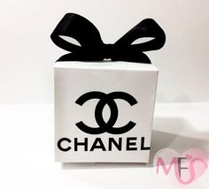 Chanel themed bridal shower and chanel themed party favors